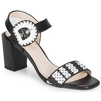 Sapatos Mulher Sandálias Fericelli MAIRA Preto / Branco