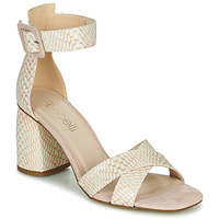 Sapatos Mulher Sandálias Fericelli JEZI Branco / Rosa