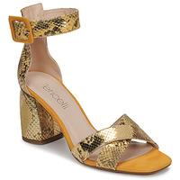 Sapatos Mulher Sandálias Fericelli JEZI Amarelo