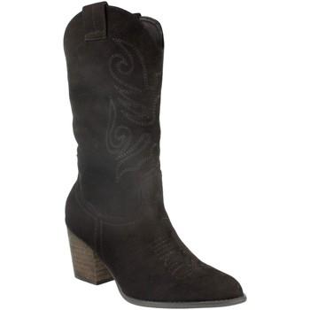 Sapatos Mulher Botas Buonarotti 2A-9545 Negro