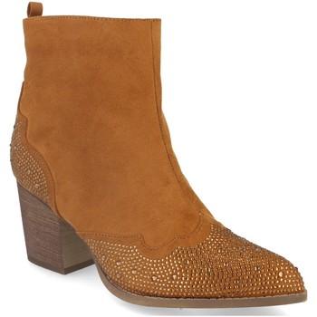 Sapatos Mulher Botins Buonarotti 2A-9661 Camel