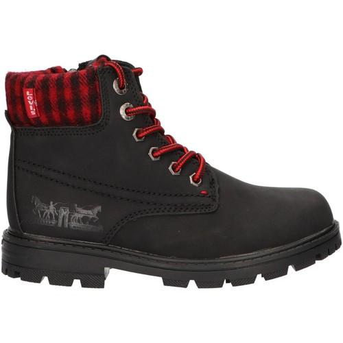 Sapatos Criança Botas baixas Levi's VFOR0001S FORREST Negro