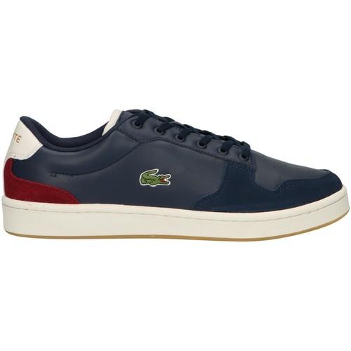 Sapatos Homem Multi-desportos Lacoste 38SMA0037 MASTERS Azul