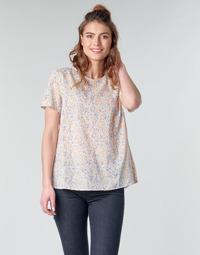 Textil Mulher Tops / Blusas Benetton DANIEL Branco / Multicolor