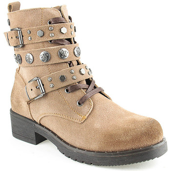 Sapatos Mulher Botas baixas Top3 L Boot Lady Taupe