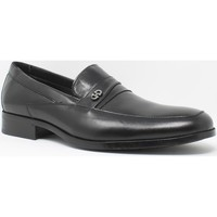 Sapatos Homem Mocassins Baerchi 4687 Negro