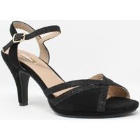 Sapatos Mulher Sandálias Bienve Cerimônia senhora boas-vindas, 1a-17518 preto Noir