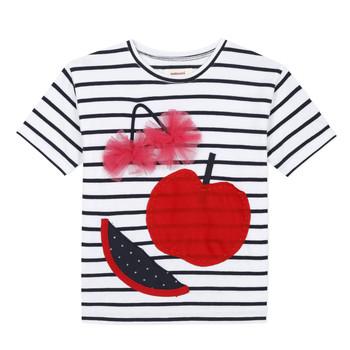 Textil Rapariga T-Shirt mangas curtas Catimini KUSY Branco