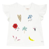 Textil Rapariga T-Shirt mangas curtas Catimini NADEGE Branco