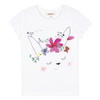 Textil Rapariga T-Shirt mangas curtas Catimini MAE Branco