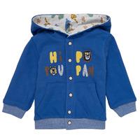 Textil Rapaz Casacos de malha Catimini KELYNE Azul
