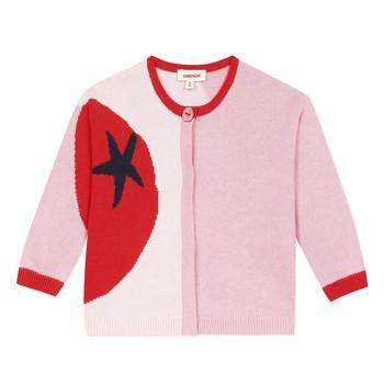 Textil Rapariga Casacos de malha Catimini LIANA Rosa