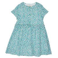 Textil Rapariga Vestidos curtos Catimini ELLA Verde / Azul