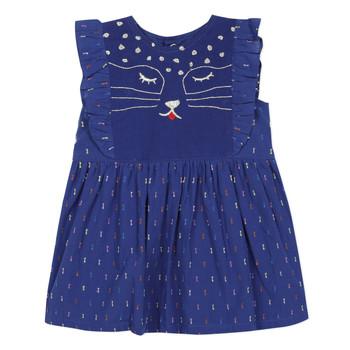 Textil Rapariga Vestidos curtos Catimini CHARLES Azul