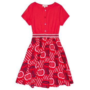 Textil Rapariga Vestidos curtos Catimini MANOA Vermelho