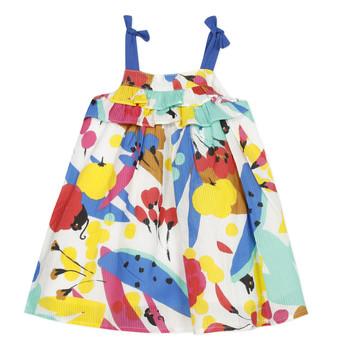 Textil Rapariga Vestidos curtos Catimini THEO Branco
