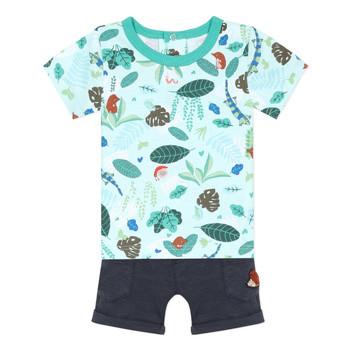 Textil Rapaz Conjunto Catimini THOMAS Azul