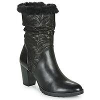 Sapatos Mulher Botas Caprice LOTIMA Preto