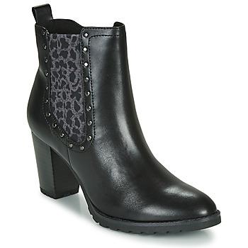 Sapatos Mulher Botins Caprice LUTIMA Preto