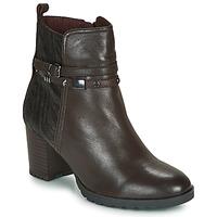 Sapatos Mulher Botins Caprice LUNITONE Castanho