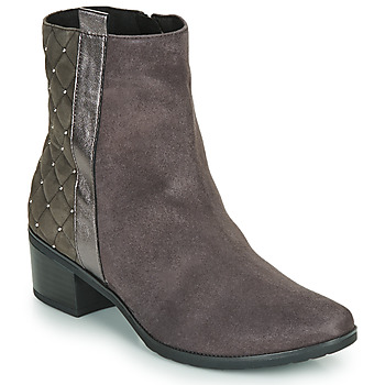 Sapatos Mulher Botas baixas Caprice LINITANE Cinza