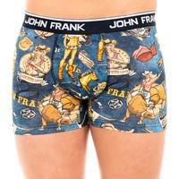 Roupa de interior Homem Boxer John Frank Boxer Azul