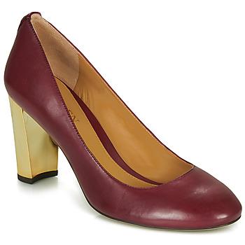 Sapatos Mulher Escarpim Lauren Ralph Lauren 802688958-004 Bordô