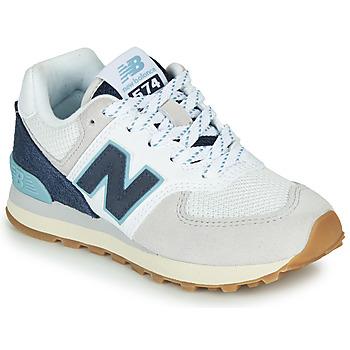 Sapatos Sapatilhas New Balance GC574SOU Branco / Azul