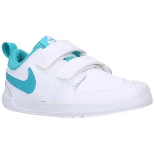 Sapatos Rapaz Sapatilhas Nike AR4162/4161 101 Niño Blanco blanc