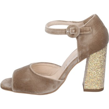 Sapatos Mulher Sandálias Olga Rubini BP361 Bege