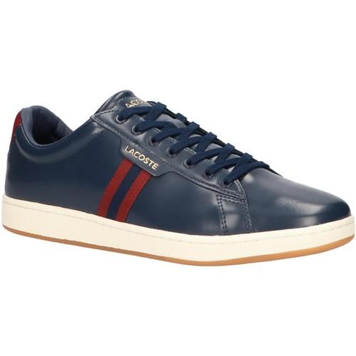 Sapatos Homem Sapatilhas Lacoste 38SMA0030 CARNABY Azul