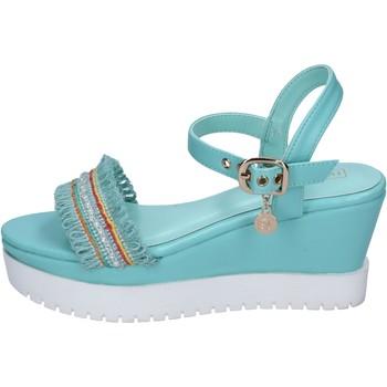 Sapatos Mulher Sandálias Enrico Coveri BP390 Turquesa