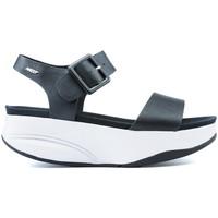 Sapatos Mulher Sandálias Mbt MANNI SANDALS 2 BLACK NAPPA
