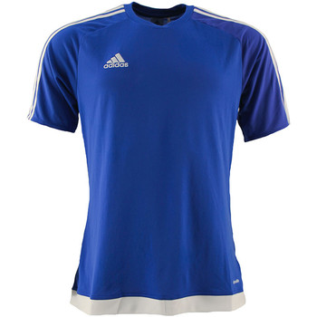 Textil Rapaz T-shirts e Pólos adidas Originals - T-shirt royal S16148 J ROYAL
