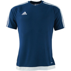 Textil Rapaz T-shirts e Pólos adidas Originals - T-shirt blu S16150 J BLU