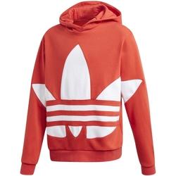 Textil Rapaz Sweats adidas Originals - Felpa rosso FS1856 ROSSO
