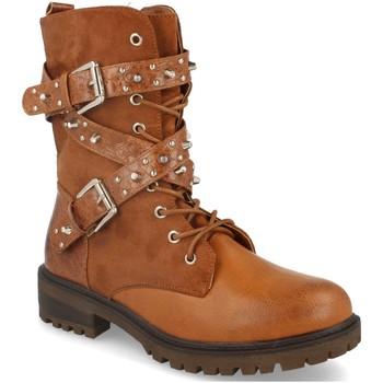 Sapatos Mulher Botas baixas Forever Folie F3165 Camel