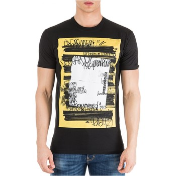 Textil Homem T-Shirt mangas curtas Dsquared S71GD0741 Preto