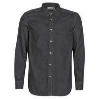 Textil Homem Camisas mangas comprida Diesel D-BER-P Preto