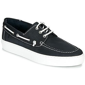 Sapatos Homem Sapato de vela Casual Attitude MILIA Marinho / Branco
