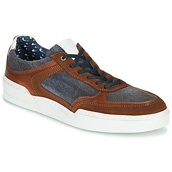 Sapatos Homem Sapatilhas Casual Attitude MELISSI Conhaque