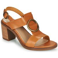 Sapatos Mulher Sandálias Casual Attitude MELINA Camel