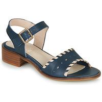 Sapatos Mulher Sandálias Casual Attitude RINEILUE Preto / Prateado