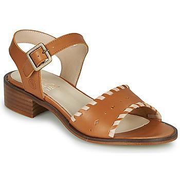 Sapatos Mulher Sandálias Casual Attitude MELIVELLANA Castanho