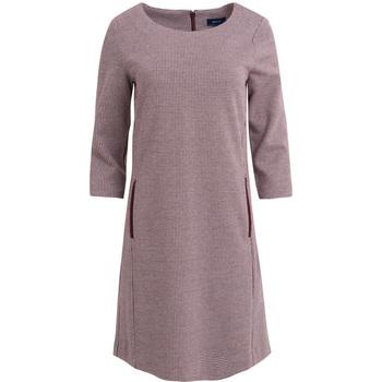 Textil Mulher Vestidos Gant VESTIDO SHIFT EM JERSEY DOGTOOTH Multicolor