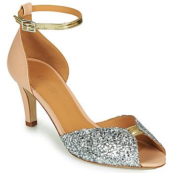 Sapatos Mulher Sandálias Emma Go JOLENE GLITTER Rosa / Prata / Ouro