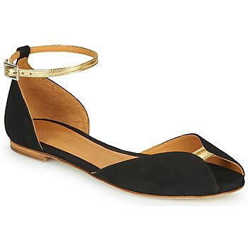 Sapatos Mulher Sandálias Emma Go JULIETTE Preto / Ouro