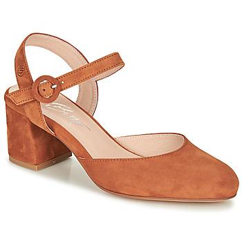 Sapatos Mulher Escarpim Betty London MALINE Camel