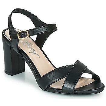 Sapatos Mulher Sandálias Betty London MOUDINE Preto