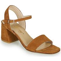 Sapatos Mulher Sandálias Betty London MAKITA Conhaque